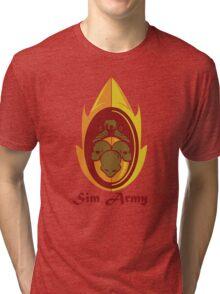 Sim Crest Tri-blend T-Shirt