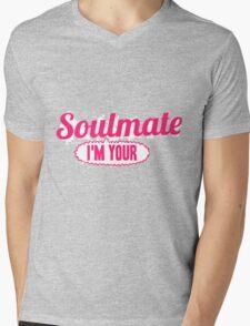 Soulmate Mens V-Neck T-Shirt