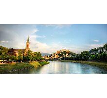 Salzburg Sunset Photographic Print