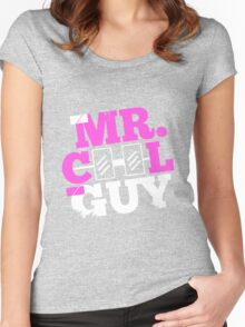 mr. COOL GUY Women's Fitted Scoop T-Shirt