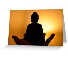 Buddha Light Greeting Card