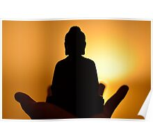 Buddha Light Poster