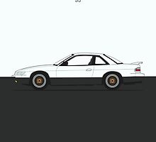 Nissan Silvia S13 by RexDesigns
