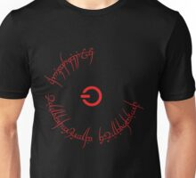Red Ring to rule them all Unisex T-Shirt