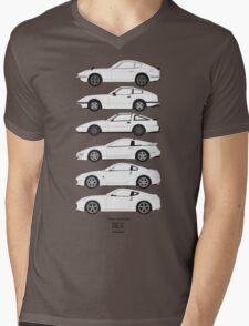Nissan Fairlady Z History Mens V-Neck T-Shirt