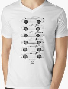 Nissan Fairlady Z History Mens V-Neck T-Shirt