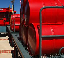 Red Barrels by Richard G Witham