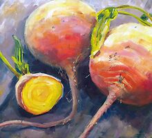 Heirloom Beets by Elizabeth Whiteman