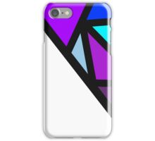 color block-cool colors iPhone Case/Skin