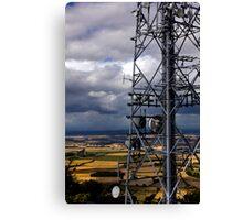 The Wrekin Communications Tower Canvas Print