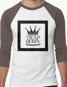 Trap Queen Fetty Wap Men's Baseball ¾ T-Shirt