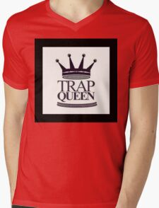 Trap Queen Fetty Wap Mens V-Neck T-Shirt