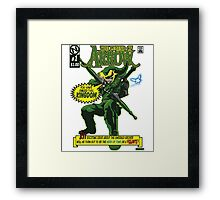 The Emerald Archer Framed Print