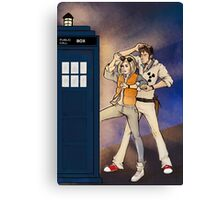 Back to the Tardis Canvas Print