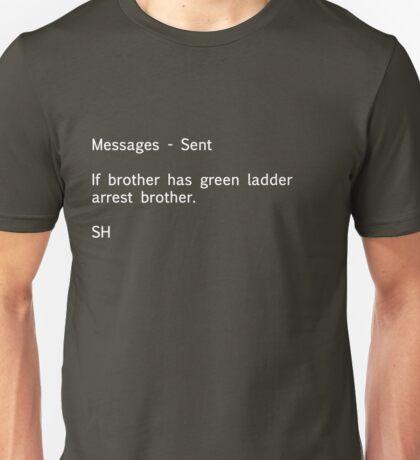 Sherlock Messages Unisex T-Shirt