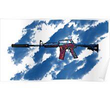 CSGO M4A1-S Hyper Beast 2 BLUE! Poster