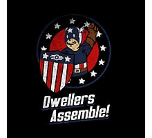 Dwellers Assemble! Photographic Print