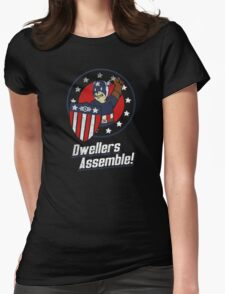 Dwellers Assemble! Womens Fitted T-Shirt