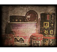 Boxes full of Biscuits Photographic Print