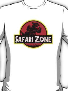 Safari Zone X Jurassic Park V2 T-Shirt