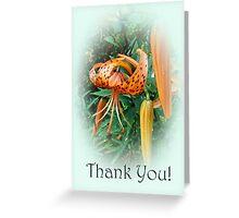 Thank You Card - Turks Cap Lilies Greeting Card
