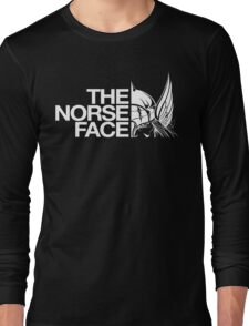 The Norse Face  Long Sleeve T-Shirt