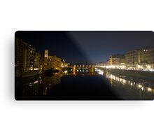 River Arno, Florence Metal Print