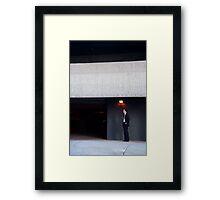 Light Work Framed Print