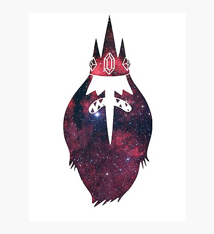 Space Ice King Photographic Print
