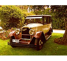 1926 Packard - 333 Limo Photographic Print