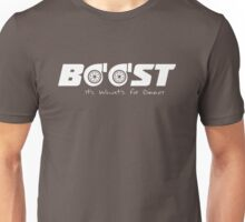 Boost, It's what's for dinner Unisex T-Shirt