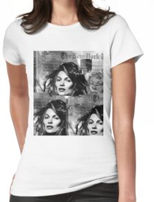 kate moss Womens Fitted T-Shirt