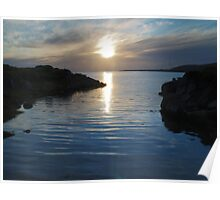 Trawenagh Bay at Sunset 2 Poster