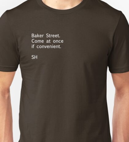 Sherlock Messages - 5 T-Shirt
