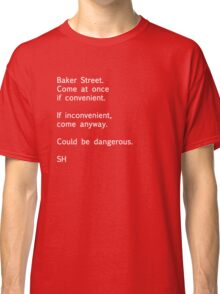 Sherlock Messages - 7 Classic T-Shirt