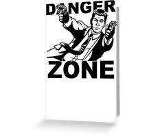 Archer Danger Zone FX TV Funny Cartoon Cotton Blend Adult T Shirt Greeting Card