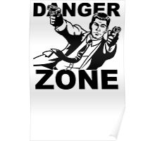 Archer Danger Zone FX TV Funny Cartoon Cotton Blend Adult T Shirt Poster