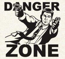 Archer Danger Zone FX TV Funny Cartoon Cotton Blend Adult T Shirt by jokestore
