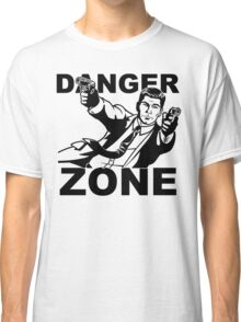 Archer Danger Zone FX TV Funny Cartoon Cotton Blend Adult T Shirt Classic T-Shirt