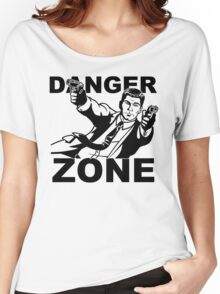 Archer Danger Zone FX TV Funny Cartoon Cotton Blend Adult T Shirt Women's Relaxed Fit T-Shirt