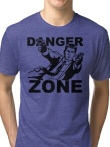 Archer Danger Zone FX TV Funny Cartoon Cotton Blend Adult T Shirt Tri-blend T-Shirt