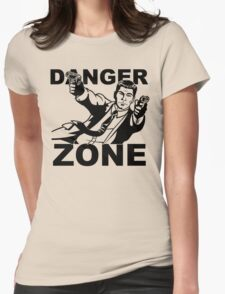 Archer Danger Zone FX TV Funny Cartoon Cotton Blend Adult T Shirt Womens Fitted T-Shirt