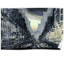 Parisian Mosaic - Piece 24 - Rue de Rivoli Poster