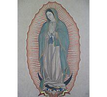 La Virgen de Guadalupe Photographic Print
