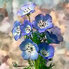 Blue Flower by BoB Davis