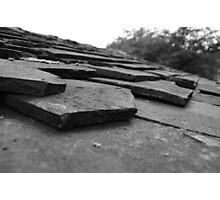 Broken tiles Photographic Print