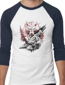 Final Fantasy Amano Homage Men's Baseball ¾ T-Shirt