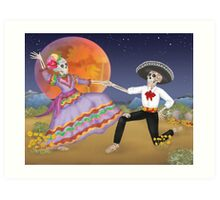 Dancing in the Desert Art Print