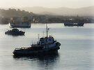 Mindelo Harbor by Lucinda Walter