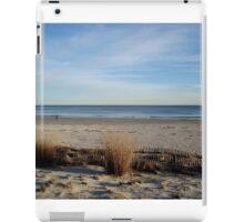 Off-Season at the Beach iPad Case/Skin
